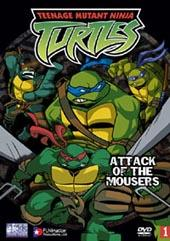 Teenage Mutant Ninja Turtles - Vol. 01: Attack of the Mousers on DVD