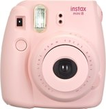 Fujifilm Instax Mini 8 Camera Soft Bundle - Pink