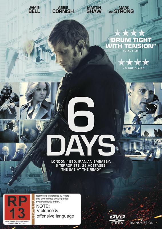 6 Days on DVD