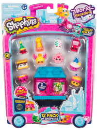 Shopkins: World Vacation - 12 Pack (Series 8 - Wave 3)