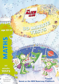 Aliens Quick Test: Maths 10-11 by Lynn Huggins Cooper image