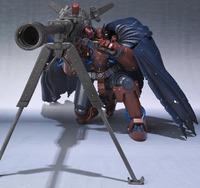 Gun x Sword Robot Damashii Volkein Action Figure