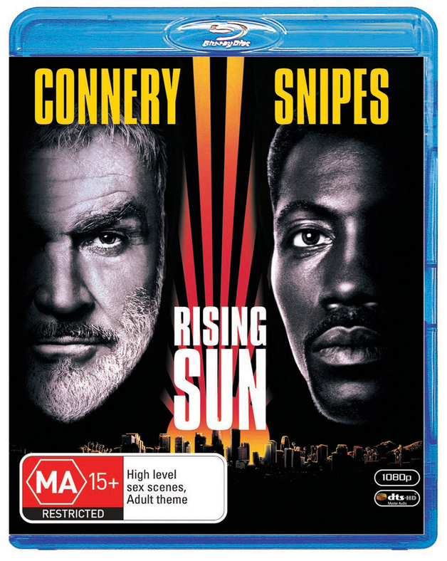 Rising Sun on Blu-ray