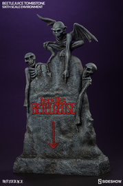 "Beetlejuice - 11"" Tombstone Accessory"