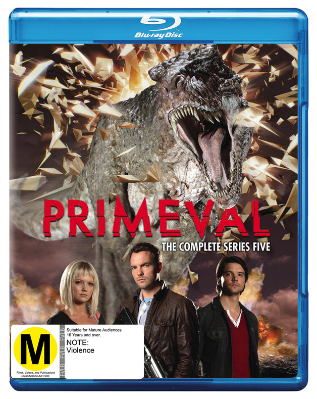 Primeval - The Complete Fifth Season on Blu-ray