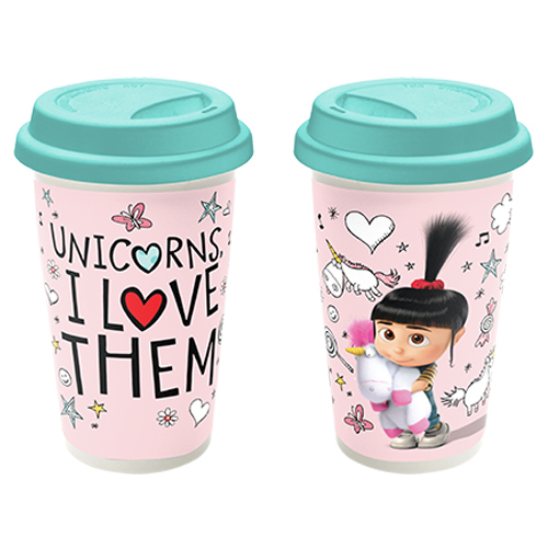 Despicable Me 3 Unicorns Travel Mug