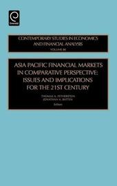 Asia Pacific Financial Markets in Comparative Perspective image