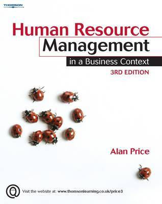 Human Resource Management in a Business Context by Alan Price image