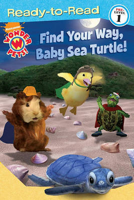 Find Your Way, Baby Sea Turtle! by Melinda Richards