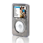 Belkin Clear Acrylic & Silver Brushed Metal Face for iPod Classic image