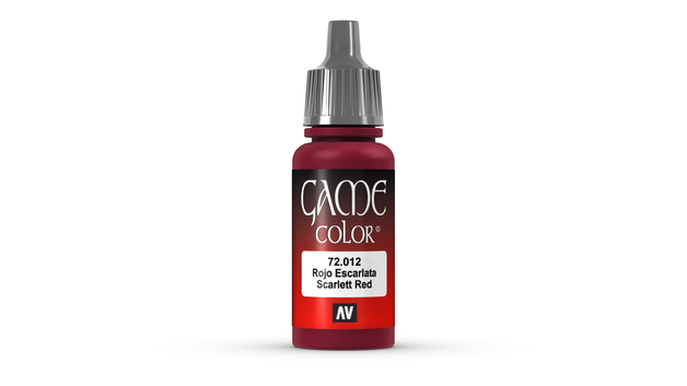 Vallejo Game Colour Scarlett Red 17ml
