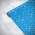 Gorilla Gift: Wrapping Paper - Everyday Blue (5m)