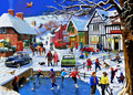 Holdson: 1000 Piece Puzzle - A Simple Way of Life - Winter In The Village