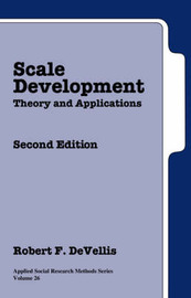 Scale Development: Theory and Applications by Robert F. DeVellis image