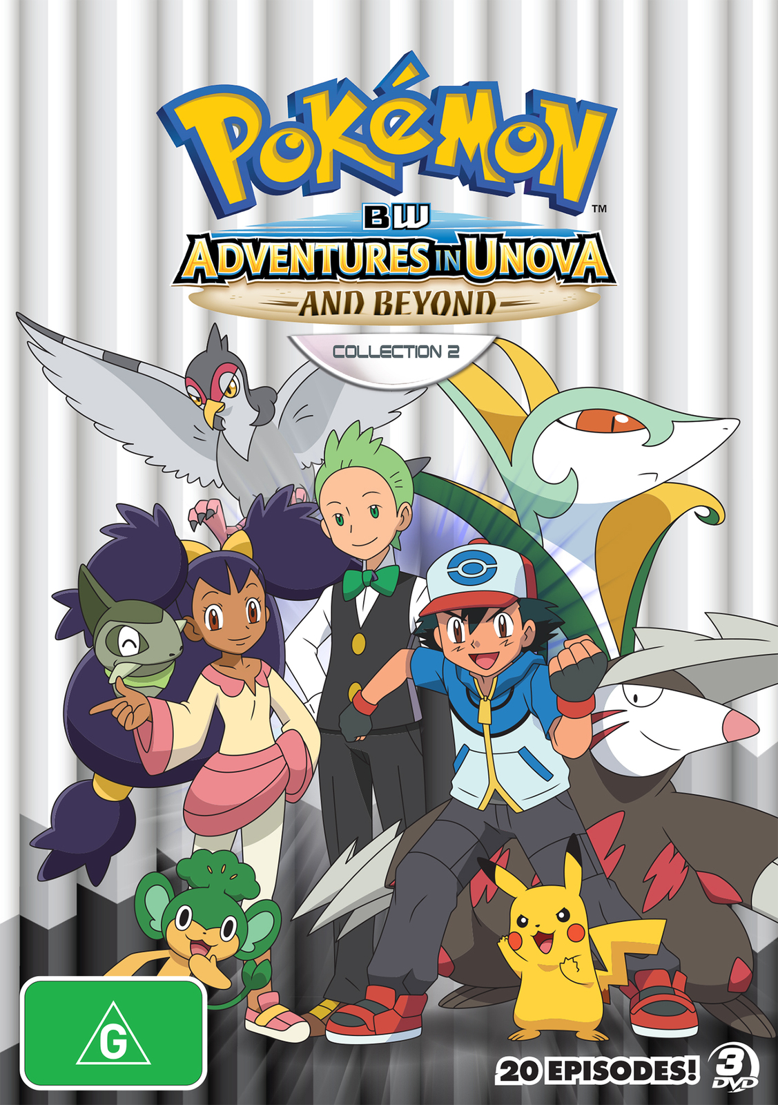 Pokémon: BW Adventures in Unova - Season 16 Episode 3 ...
