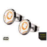Star Wars Stainless Episode 7 BB8 Earrings