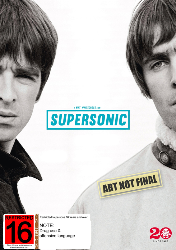 Oasis: Supersonic | DVD | In-Stock - Buy Now | at Mighty Ape NZ