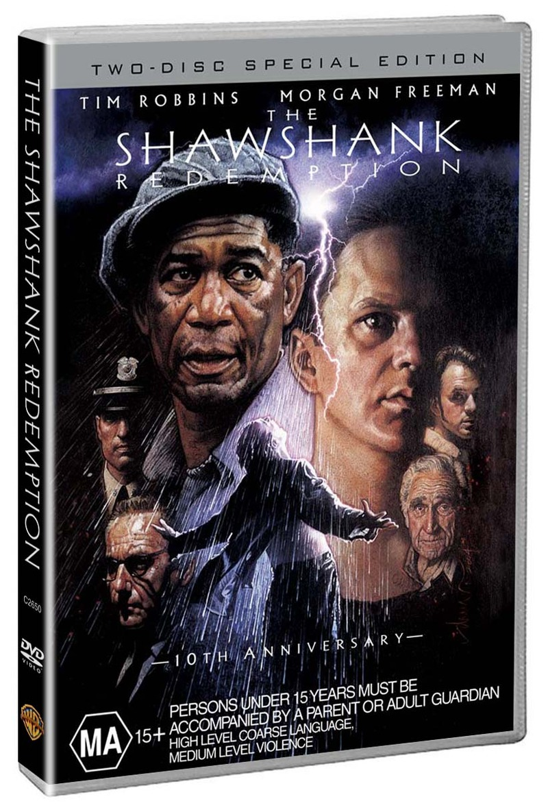 The Shawshank Redemption - Special Edition (2 Disc Set) on DVD image