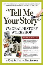 The Oral History Workshop by Cynthia Hart