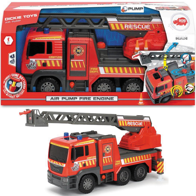 Dickie Toys - Air Pump Fire Engine image