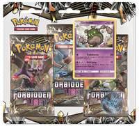 Pokemon TCG: Forbidden Light - 3-Pack Blister Set (Garbador)