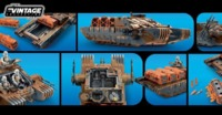 Star Wars: Vintage Collection Vehicle - Imperial Assault Tank image