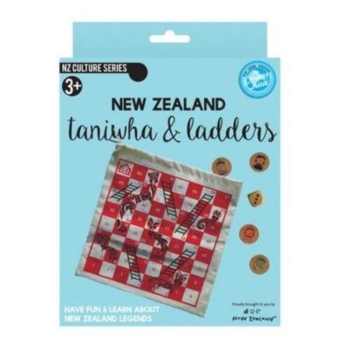 NZ Gift: Taniwha & Ladder - Board Game