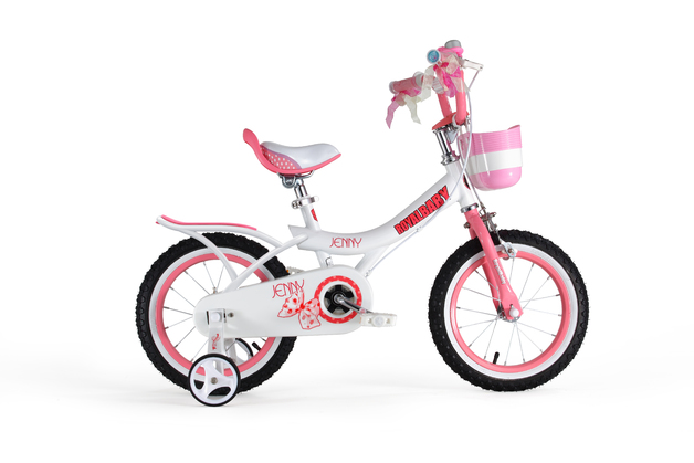 """RoyalBaby: Jenny G-4 - 16"""" Girl's Bike (White)"""