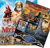 Age of Mythology + Age of Empires 2.0 Gold for PC Games