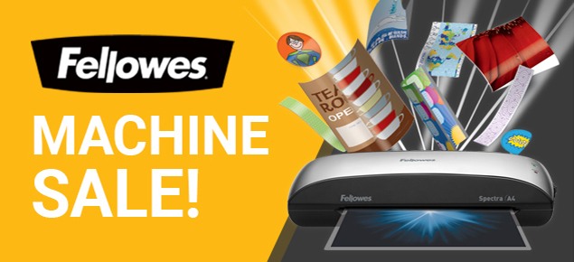 Fellowes Machines Sale!
