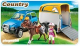 Playmobil - SUV with Horse Trailer (5223)