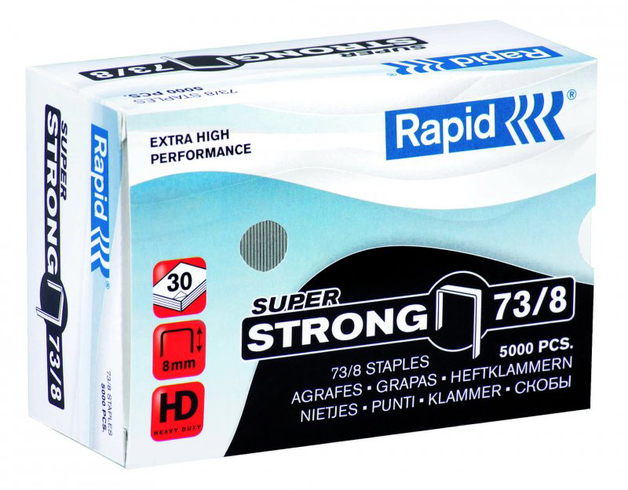 Rapid 73/8 Staples 5000pcs