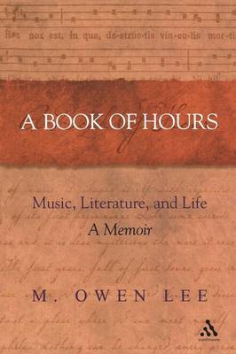 A Book of Hours by M.Owen Lee image
