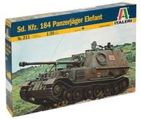 Italeri: 1:35 SD.KFZ.184 Panzerjager Elefant - Model Kit