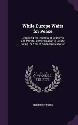 While Europe Waits for Peace by Pierrepont Noyes
