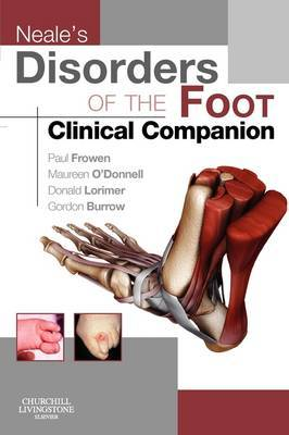 Neale's Disorders of the Foot Clinical Companion by Paul Frowen image