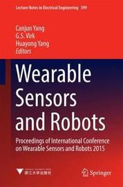 Wearable Sensors and Robots