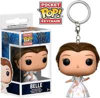 Beauty & the Beast (2017) - Belle (Celebration) Pocket Pop! Keychain
