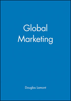 Global Marketing by Douglas Lamont image