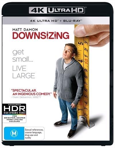 Downsizing (4K UHD + Blu-ray) on UHD Blu-ray