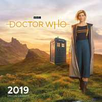 Doctor Who 2019 Square Wall Calendar