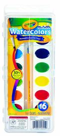 Crayola: Washable Water Colours - 16-Pan Set image