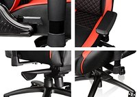 Thermaltake GT Comfort Gaming Chair (Red and Black) for  image