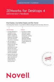 Novell ZENworks for Desktops 4 Administrator's Handbook by Brad Dayley image