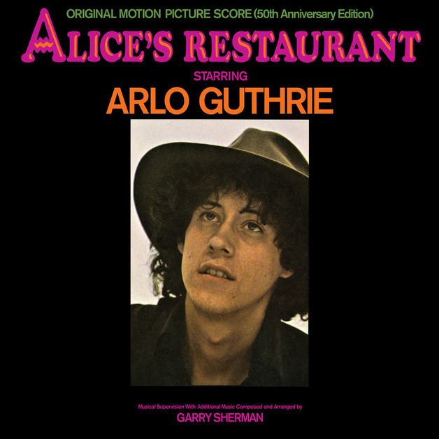 Alice's Restaurant: Original MGM Motion Picture Soundtrack (50th Anniversary Edition) [2LP] by Arlo Guthrie