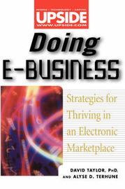 Doing EBusiness: Strategies for Thriving in an Electronic Marketplace by David Taylor image