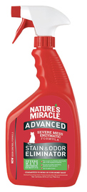 Natures Miracle: Advance Stain and Odour Remover Lemon JFC 946ml image