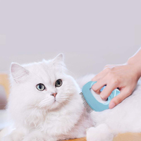 Long-Haired/ Short-Haired - Pet Comb (Blue)