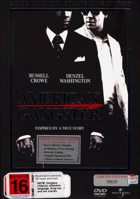 American Gangster - Special Edition (2 Disc Set) on DVD