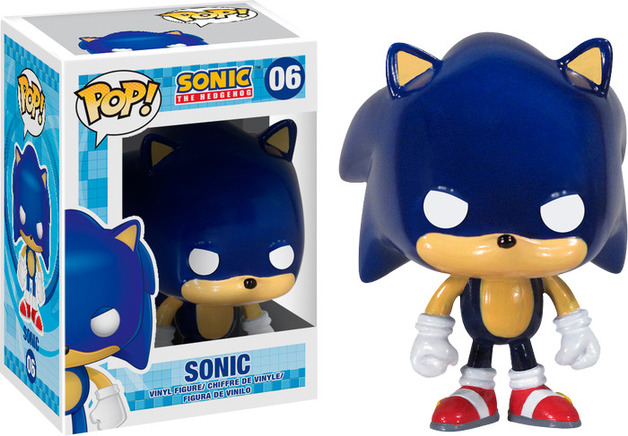 Sonic Pop Vinyl Figure At Mighty Ape Australia